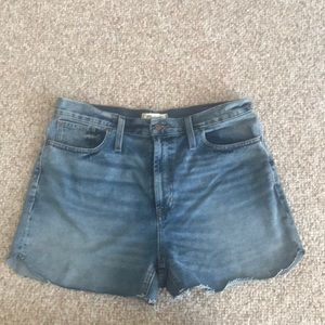 "Madewell "" the perfect jean short"" size 31"